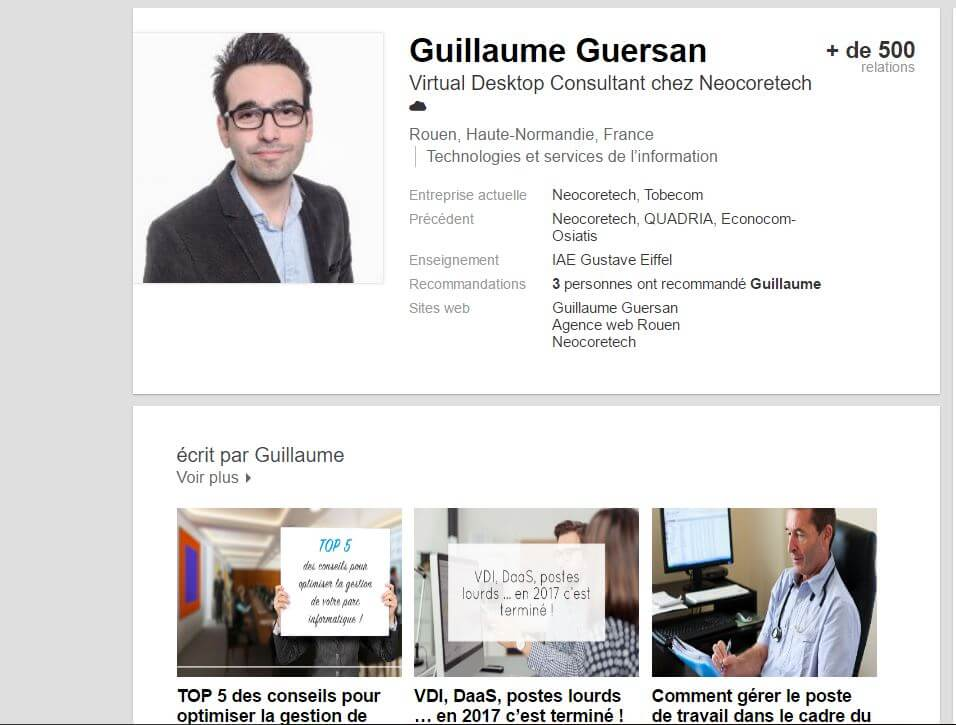 guillaume guersan de tobecom expert en marketing  pr u00e9sentation et avis